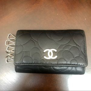 Chanel 6 keycase/card case with Camilla